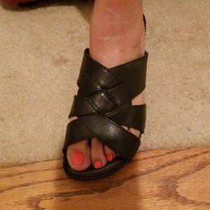 Black St. John's Bay sandals